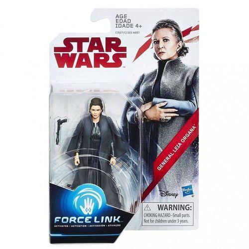 Figurki i postacie, Star Wars E8 Force Link figurka s doplňky - General Leila