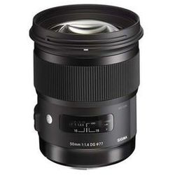 SIGMA 50mm F1.4 DG HSM for Nikon 13 Elements in 8 Group