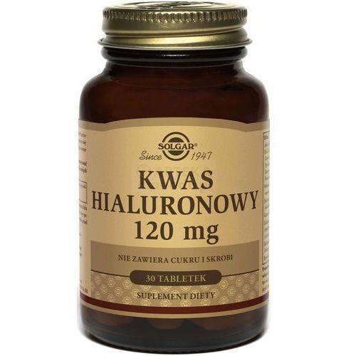 Witaminy i minerały, SOLGAR Kwas hialuronowy Biocell Collagen II, 30 tabletek