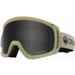 gogle snowboardowe DRAGON - Dr D3 Otg Bonus Taupe Lldksmk+Llrose (272) rozmiar: OS
