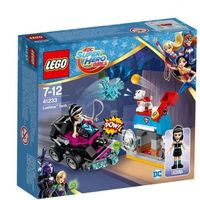 Klocki dla dzieci, Lego HERO FACTORY Dc super hero girls, lashina i jej pojazd 41233