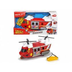 Helikopter ratunkowy czerwony, 30 cm. Darmowy odbiór w niemal 100 księgarniach!