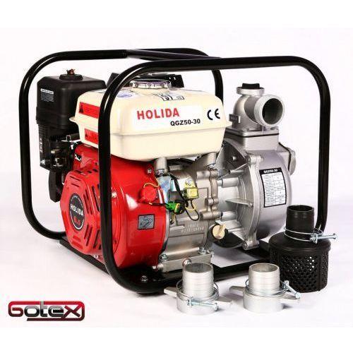 Sprzęt przeciwpożarowy, MOTOPOMPA, POMPA SPALINOWA Holida QGZ50-30 600L/MIN