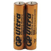 Baterie, 2 x bateria alkaliczna GP Ultra Alkaline Industrial LR03/AAA (taca)
