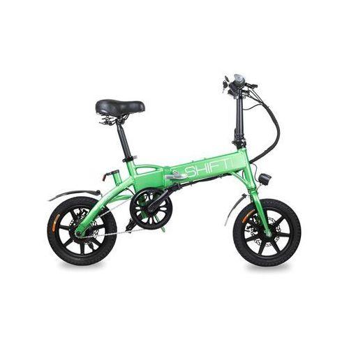 Rowery elektryczne, E-City rider Shift Green
