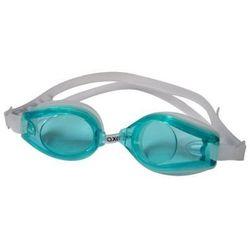 Okulary pływackie AXER OCEAN Junior Luna Popielato-zielony