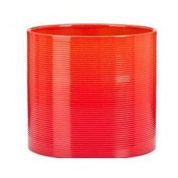 Osłonka Scheurich 828 Tequila Sunrise czerwony + pomarańczowy 16
