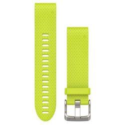 Garmin Pasek silikonowy Quick Fit 20mm Fenix 5S (żółty)