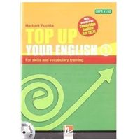 Książki do nauki języka, Top Up Your English 1 A1/A2 + audio CD - Herbert Puchta (opr. broszurowa)