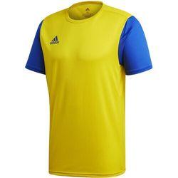Koszulka dla dzieci adidas Estro 19 Jersey JUNIOR żółto-niebieska FT6681