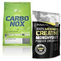 Kreatyny, Olimp CARBO-NOX 1000g + BioTech USA creatine 500g