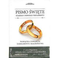 Książki religijne, Biblia Domowa 2017 Pamiątka Ślubu (wersja D) - ks. bp. Romaniuk Kazimierz (opr. twarda)