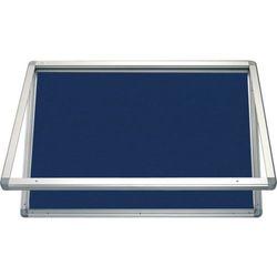 Gablota informacyjna 2x3 model 1 – zewnętrzna wodoszczelna tekstylna 4xA4(53x70cm) - pionowa