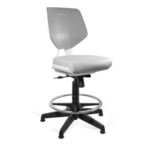 Fotele i krzesła biurowe, Krzesło UNIQUE Kaden grey/grey