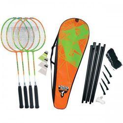 Zestaw do badmintona TALBOT Torro 4-Attacker z siatką