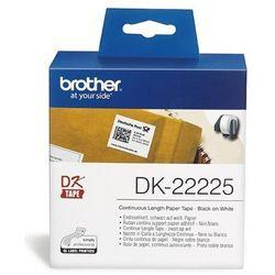 Taśma Brother Continuous Paper Tape 38mm x 30.48m DK22225 - odbiór w 2000 punktach - Salony, Paczkomaty, Stacje Orlen