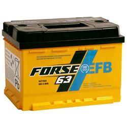 Akumulator FORSE EFB START & STOP 63Ah 620A niski