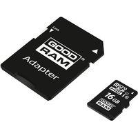 Karty pamięci, GOODRAM microSDHC 16GB class 10 UHS I + adapter - M1AA-0160R12