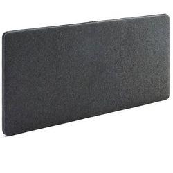 Ścienny panel dźwiękochłonny Zip 1400x650 mm ciemnoszary czarny suwak