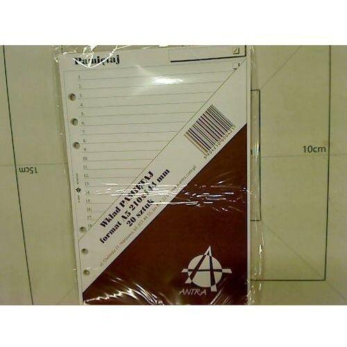 Pozostałe artykuły szkolne, Wkład do organizera MEM/A5/Pamiętaj ANTRA