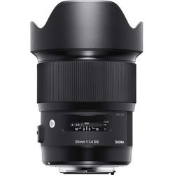 Sigma A 20mm 1.4 A DG HSM Canon - produkt w magazynie - szybka wysyłka!