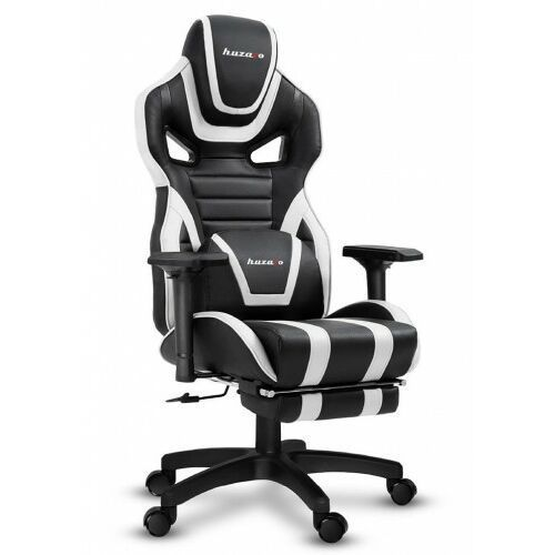 Fotele dla graczy, Fotel gamingowy Huzaro Force 7.5 czarno-biały