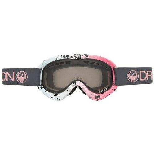 Kaski i gogle, gogle snowboardowe DRAGON - Dxs Splatt (Smoke) (929) rozmiar: OS
