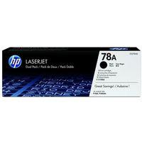 Tonery i bębny, Toner HP CE278AD czarny 2x2.1k OEM