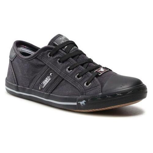 Damskie obuwie sportowe, Trampki MUSTANG - 1099-302-259 Graphit
