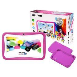 Tablet edukacyjny dla dzieci blow kidstab 7.4 różowy