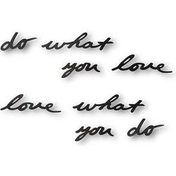 Dekoracja ścienna Mantra Do what you love