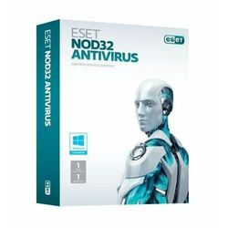 ESET NOD32 Antivirus BOX 1 - odnowienie na rok ESET NOD32 Antivirus BOX 1 - desktop - odnowienie na rok. Licencja uprawnia do pobrania najnowszej, dostępnej wersji programu