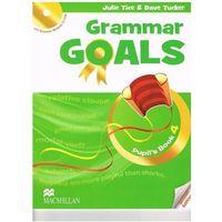 Książki do nauki języka, Grammar Goals 4. Podręcznik + CD (opr. miękka)