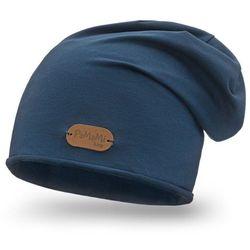 Wiosenna czapka PaMaMi - Granatowy - Granatowy
