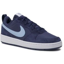 Buty NIKE - Court Borough Low 2 Pe (Gs) CD6144 400 Midnight Navy/Lt Armory Blue