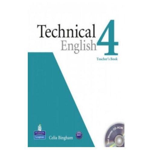 Książki do nauki języka, Technical English 4 Książka Nauczyciela Plus Test Master CD-ROM (opr. miękka)