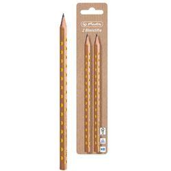 Ołówek HB drewniany Pure Glam trójkątny 2szt HERLITZ