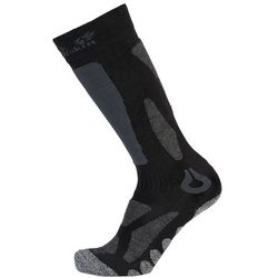 Skarpety narciarskie SKI MERINO SOCK HIGH CUT black - 47-49