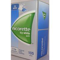 Gumy nikotynowe, Nicorette Icy White 2mg x 105szt