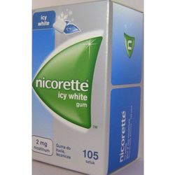 Nicorette Icy White 2mg x 105szt
