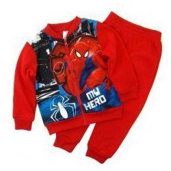 Dres Spiderman ''Superhero'' czerwony 3 lata