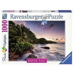 Puzzle 1000 elementów - Wyspa Praslin - Seszele - DARMOWA DOSTAWA OD 199 ZŁ!!!