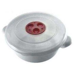 Garnek EXPRESS do kuchenki mikrofalowej 2L Biały