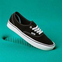 Męskie obuwie sportowe, buty VANS - Comfycush Authentic (Classic) Black/True Whit (VNE) rozmiar: 34.5
