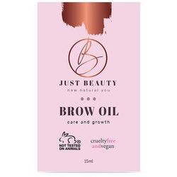 Brow Growth oil 15ml. Just Beauty
