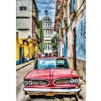 Puzzle, Puzzle Oldskulowe auto w starej Hawanie 1000 - Educa