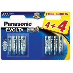Bateria PANASONIC Evolta Platinum LR03EGE/8BW 4+4F