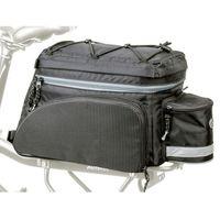 Sakwy, torby i plecaki rowerowe, Torba na bagażnik Author Carry More LitePack 20 X9 czarna