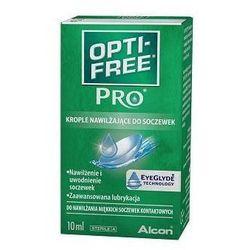 OPTI-FREE PRO nawilżające do soczewek 10 ml