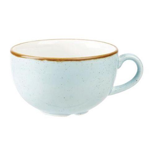 Filiżanki, Filiżanka 0,5 l, niebieska | CHURCHILL, Stonecast Duck Egg Blue